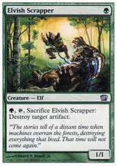 Elvish Scrapper - Foil