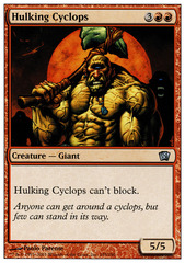 Hulking Cyclops - Foil