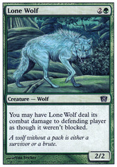 Lone Wolf - Foil