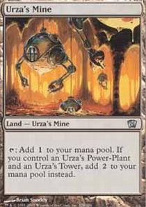 1x Urza/'s Mine NM English MTG 5th Edition