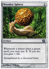 Wooden Sphere - Foil