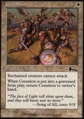 Cessation - Foil on Channel Fireball