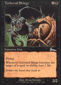 Tethered Skirge - Foil