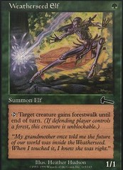 Weatherseed Elf - Foil