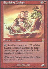 Bloodshot Cyclops - Foil on Channel Fireball