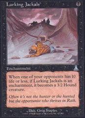 Lurking Jackals - Foil