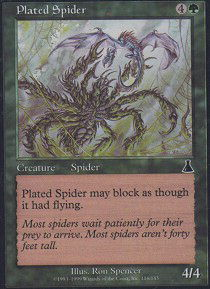 Plated Spider - Foil