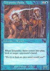 Telepathic Spies - Foil