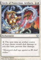 Circle of Protection Artifacts - Foil