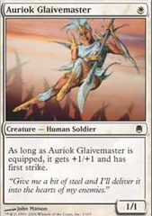Auriok Glaivemaster - Foil on Channel Fireball