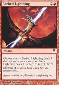 Barbed Lightning - Foil