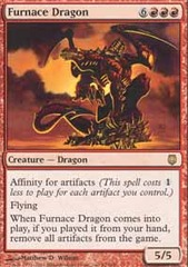 Furnace Dragon - Foil