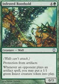 Infested Roothold - Foil