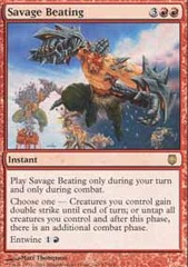 Savage Beating - Foil
