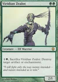 Viridian Zealot - Foil