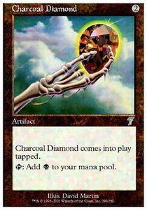 Charcoal Diamond - Foil
