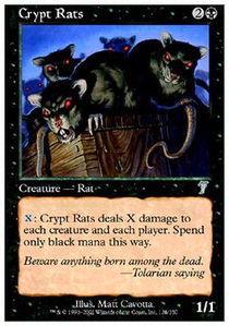 Crypt Rats - Foil