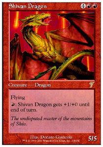 Shivan Dragon - Foil