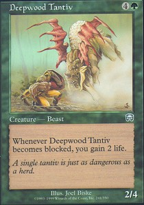 Deepwood Tantiv - Foil