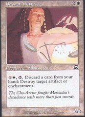 Devout Witness - Foil
