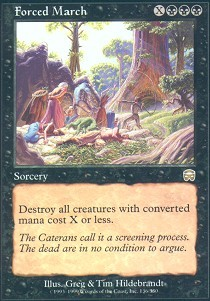 Forced March - Foil