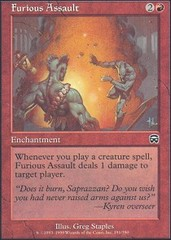 Furious Assault - Foil