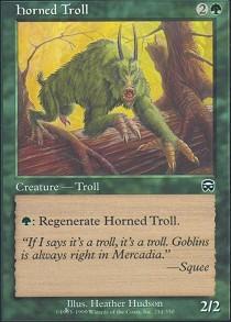 Horned Troll - Foil