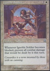 Ignoble Soldier - Foil