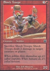 Shock Troops - Foil