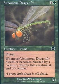 Venomous Dragonfly - Foil