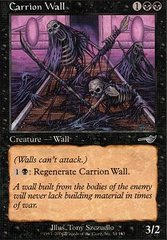 Carrion Wall - Foil on Channel Fireball
