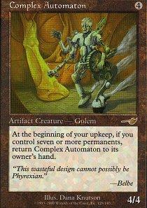 Complex Automaton - Foil