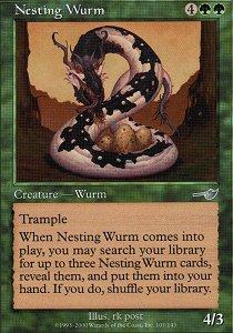 Nesting Wurm - Foil