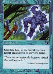 Seal of Removal - Foil