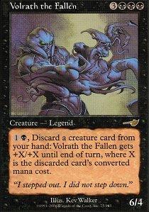 Volrath the Fallen - Foil