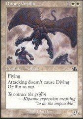 Diving Griffin - Foil