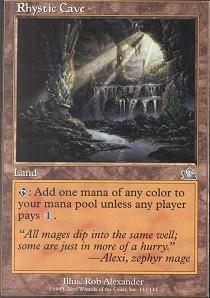 Rhystic Cave - Foil