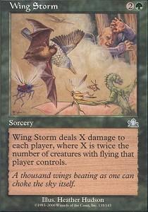 Wing Storm - Foil