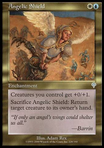 Angelic Shield - Foil