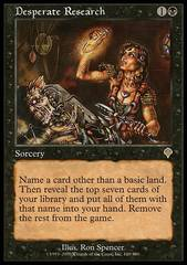 Desperate Research - Foil