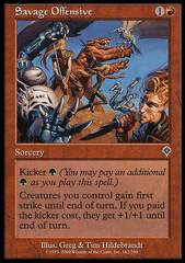 Savage Offensive - Foil