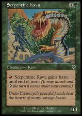 Serpentine Kavu - Foil