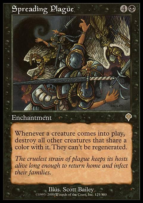 Spreading Plague - Foil