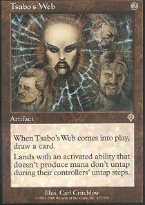 Tsabo's Web - Foil