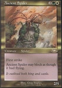 Ancient Spider - Foil