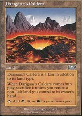 Darigaaz's Caldera - Foil on Channel Fireball