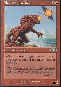 Flametongue Kavu - Foil