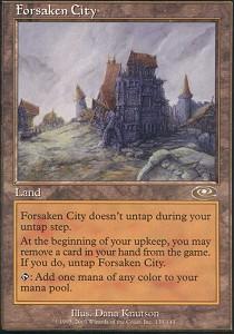 Forsaken City - Foil