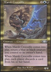 Marsh Crocodile - Foil