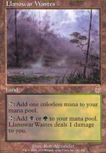 Llanowar Wastes - Foil